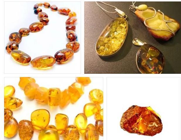Кулоны из камня янтаря очень впечатляют своим цветом и красотой