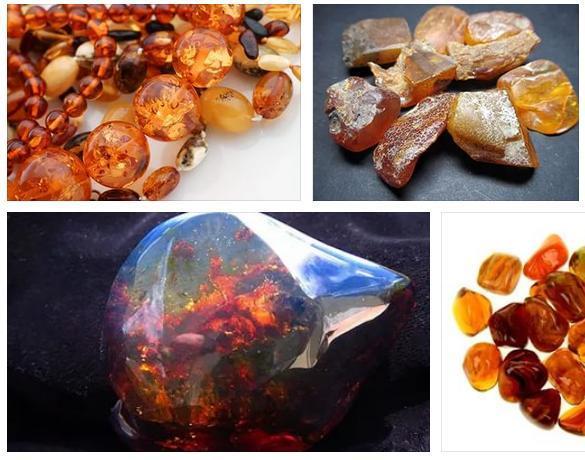 Янтарь солнечный камень - очень красивой огранки различных цветов (фото 30)
