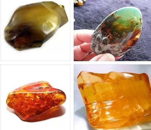 Янтарь медово золотистого цвета - отличный камень