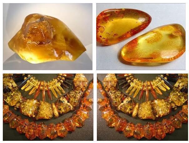 Солнечный камень янтарь в виде капли