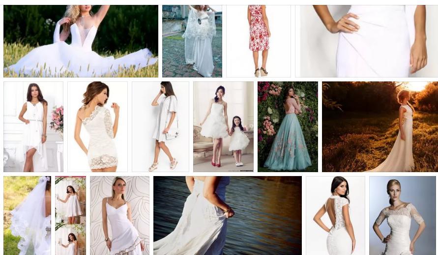 Приснились белое платье - толкование сна по сонникам