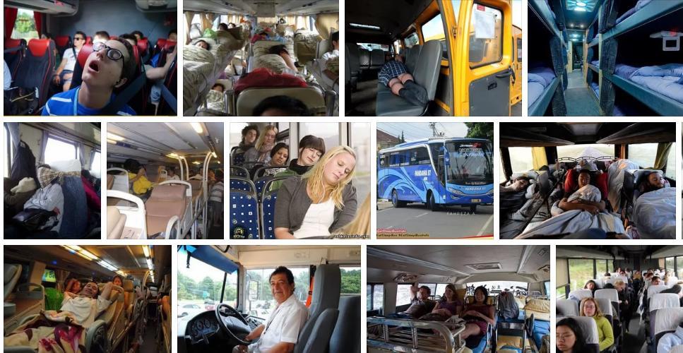 Приснилось ехать на автобусе - толкование сна по сонникам