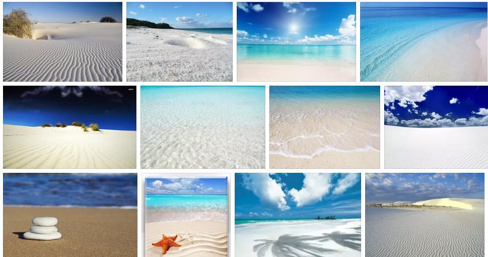 Приснился белый песок - толкование сна по сонникам