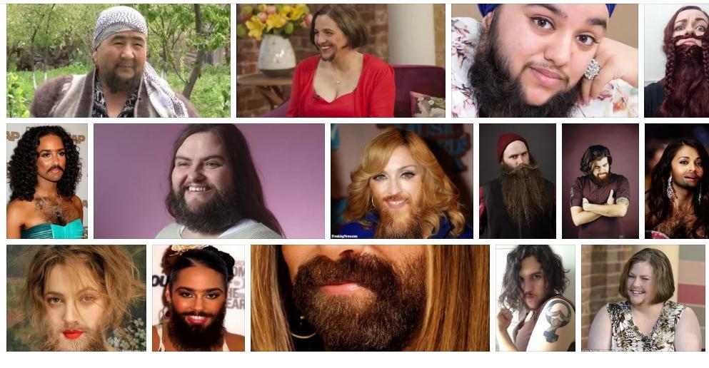 Приснилась борода у женщины - толкование сна по сонникам