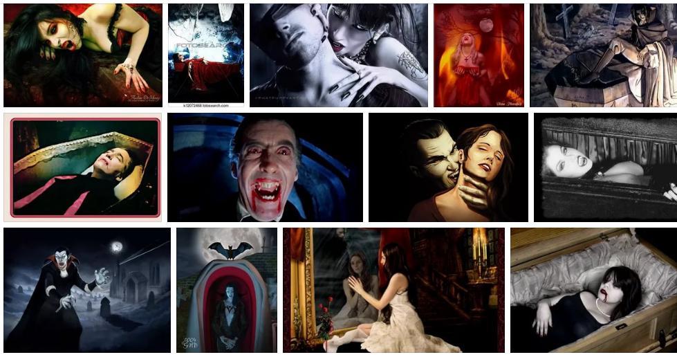 Приснились вампиры - толкование сна по сонникам