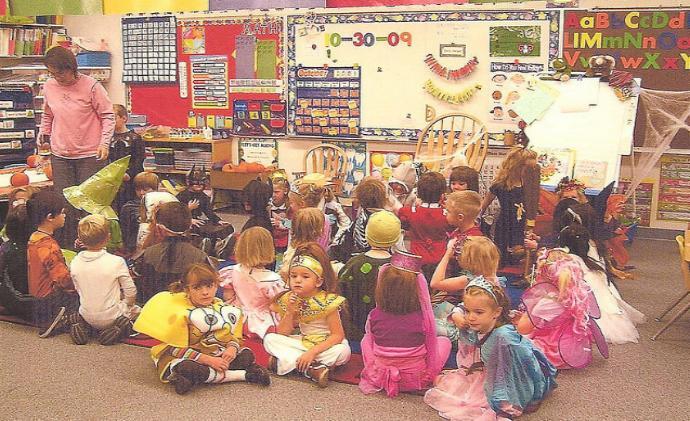 Приснился детский сад