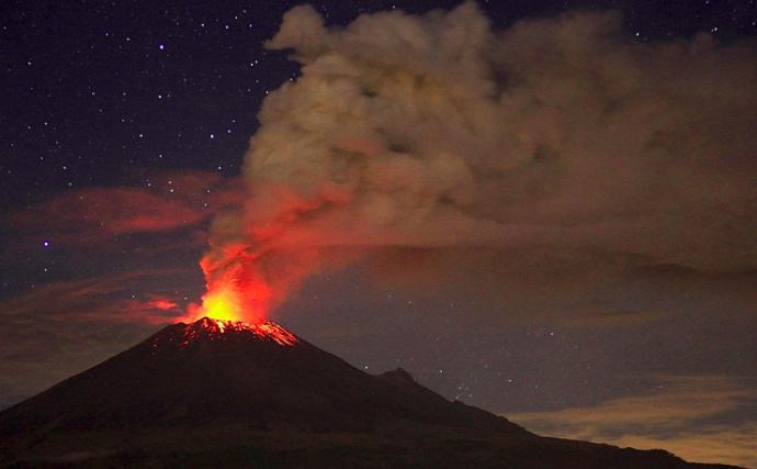Приснился вулкан – толкование сна по сонникам