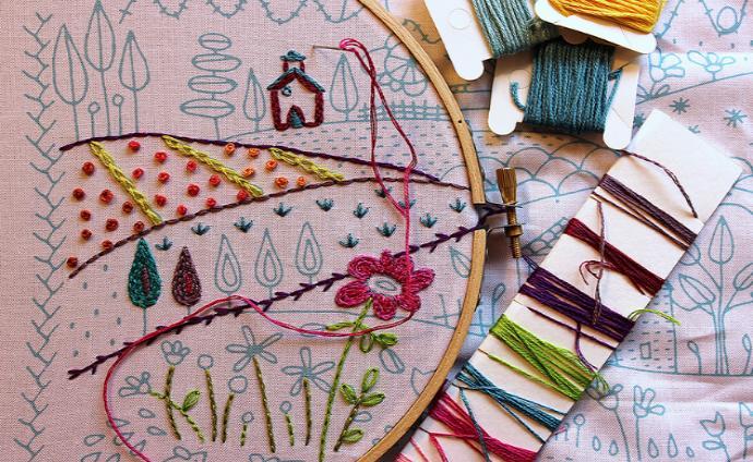Приснилось вышивать – толкование сна по сонникам